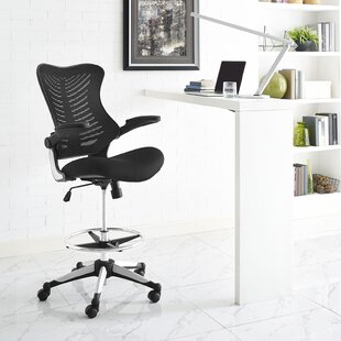 Charge Mid Back Mesh Drafting Chair