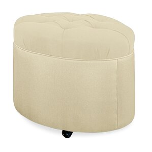 Mondo Tufted Round Ottoman by Tory Furniture