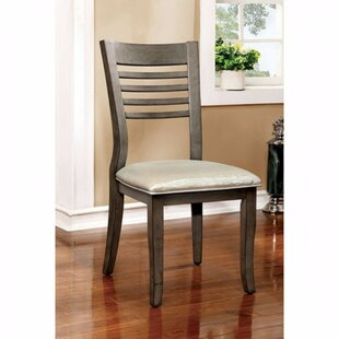 Afreena Solid Wood Dining Chair (Set of 2)