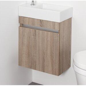 Belfry Bathroom 44 cm Wandmontierter Waschtisch Day