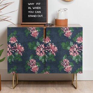 Holli Zollinger Chrysanthemum Twilight Sideboard