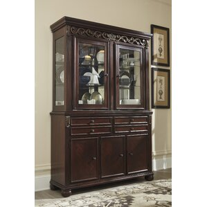 Cedar Creek Lighted China Cabinet by Three Posts
