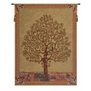 Klimt S Tree Of Life Wall Hanging