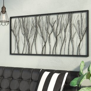 Natural Twigs And Branches Iron Wall Décor
