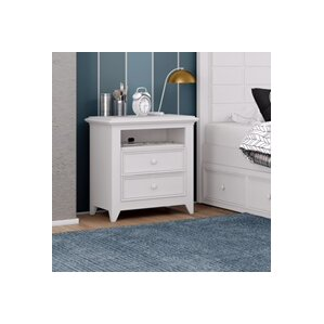 Inwood 2 Drawer Nightstand by Harriet Bee