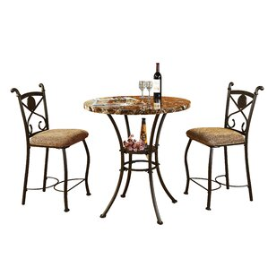 Stella 3 Piece Counter Height Dining S..