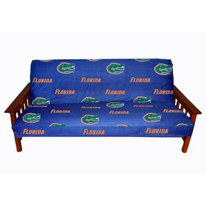 NCAA Box Cushion Futon Slipcover by College Covers