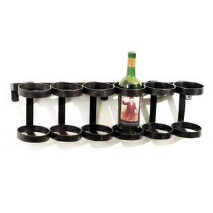 Beltran 6 Bottle Wall Mounted Wine Rack