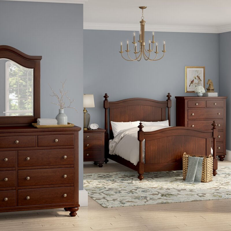 Metropolis Queen Panel 5 Piece Bedroom Set