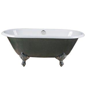 60 x 30 freestanding tub. Maykke Clawfoot Tubs You ll Love  Wayfair