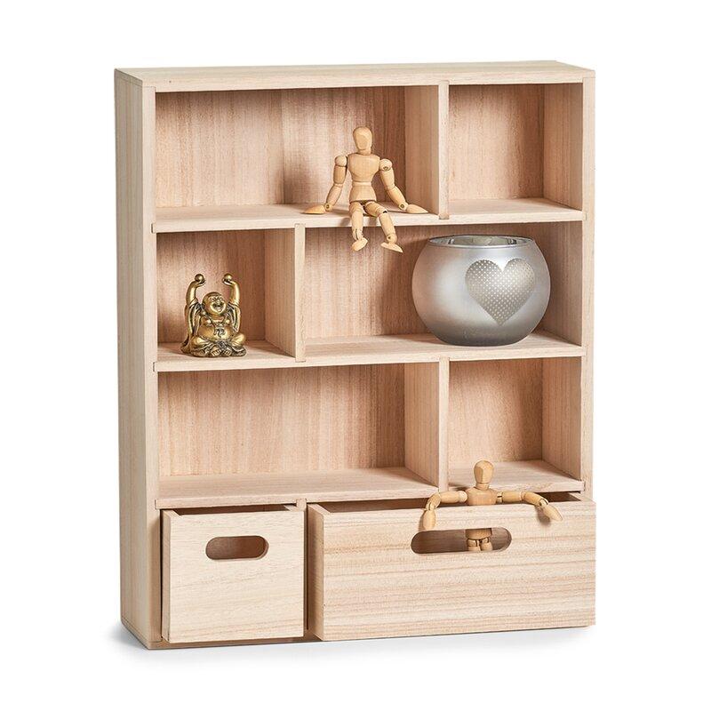zeller wandregal mit schubladen bewertungen. Black Bedroom Furniture Sets. Home Design Ideas