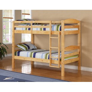 Wood Twin Over Futon Bunk Bed Wayfair