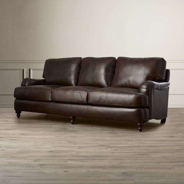 Captivating Darby Home Co Charles Leather Sofa U0026 Reviews | Wayfair