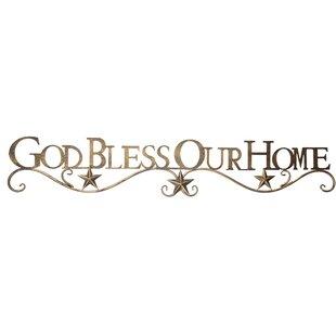 810f51ba6894 God Bless Our Home Wall Décor
