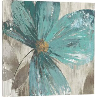 Flower Abstract Metallic Painting