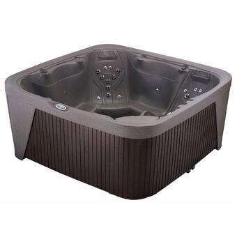 CyannaValleySpas 6-Person 21-Jet Plug and Play Hot Tub