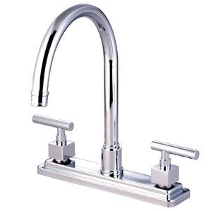 Elements of Design Rio Double Handle Kitchen Faucet