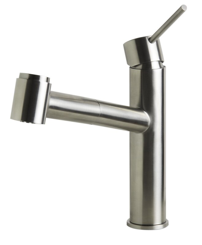 Alfi Brand Kitchen Faucet with Pull-Out Spray & Reviews | Wayfair
