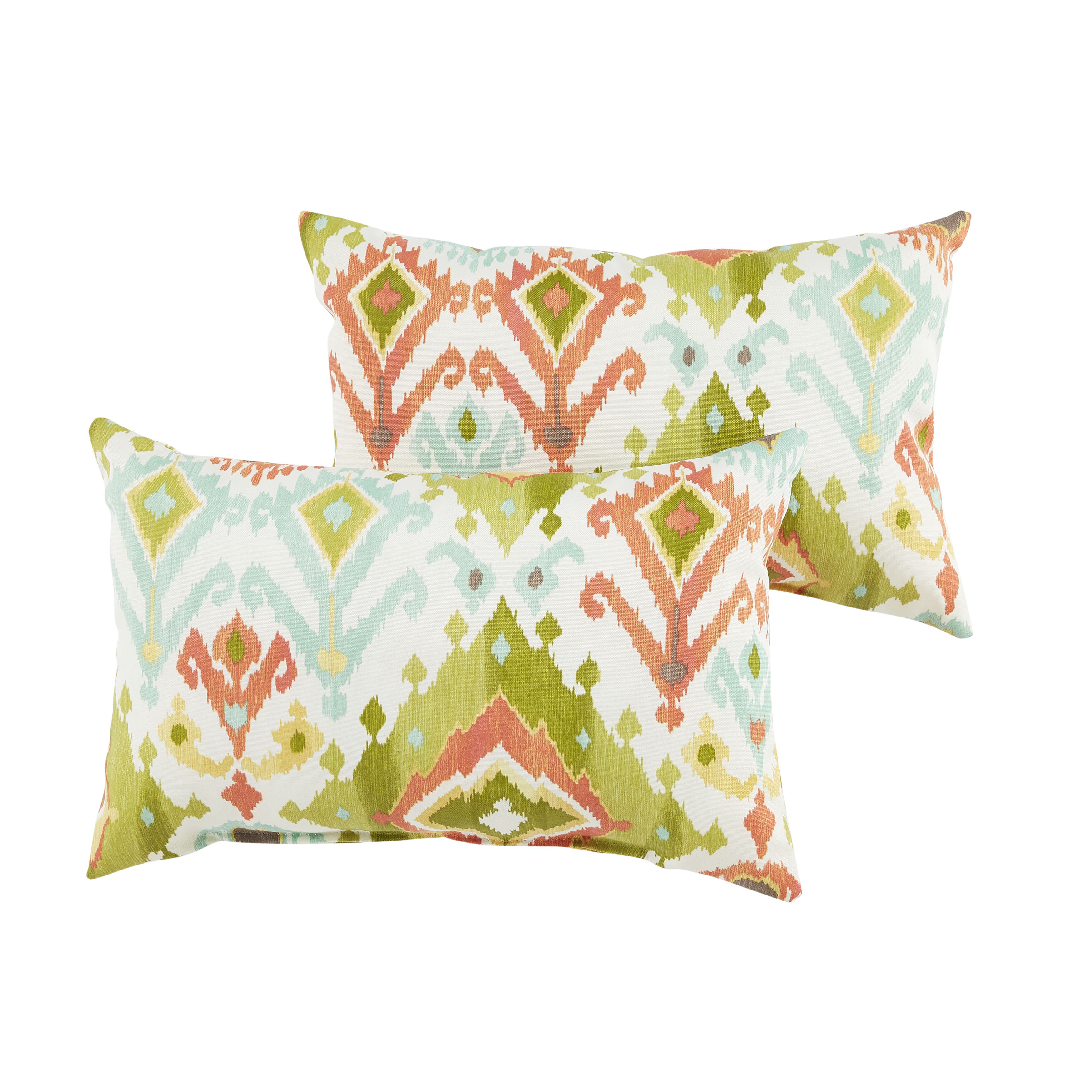 coast pillow in lumbar orange x com classic walmart coral of rectangle ip set outdoor