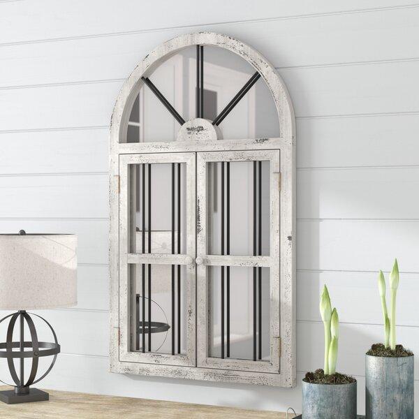 Laurel Foundry Modern Farmhouse Faux Window Wood Wall