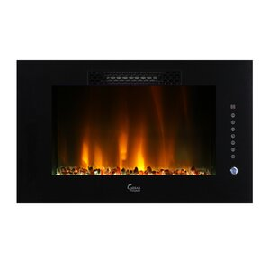 Brentwood Linear Wall Mount Electric Firepla..