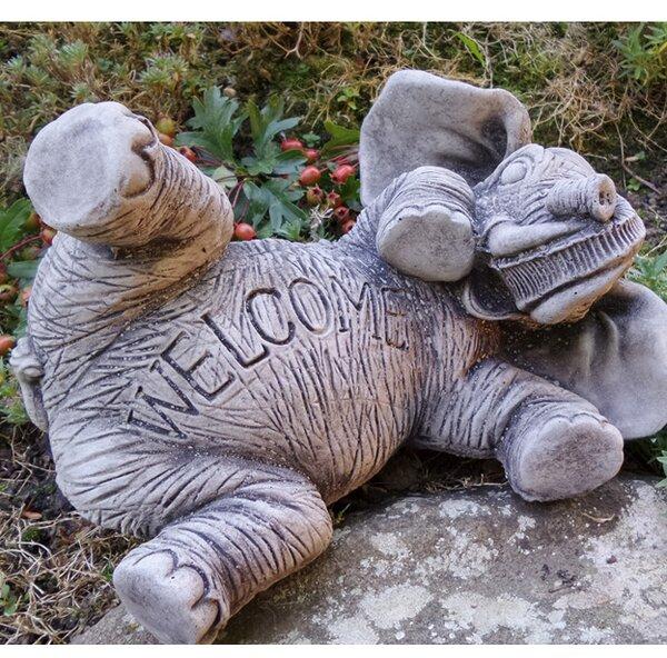 Garden Ornaments By Onefold Elephant Welcome Stone Garden