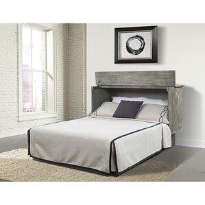 bristol queen storage murphy bed with mattress