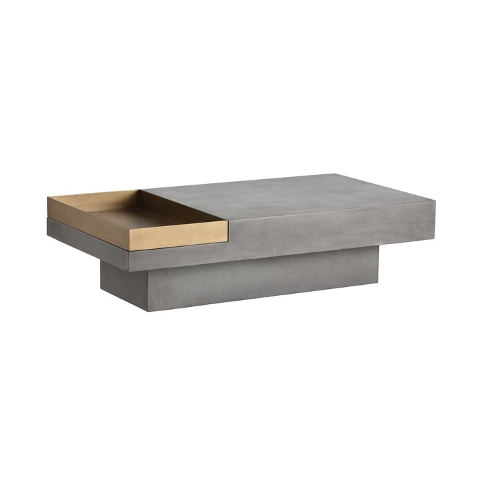 Mixt Coffee Table With Tray Top