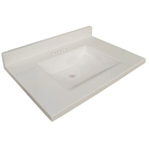 Contempo 61 Single Bathroom Vanity Top