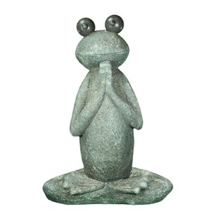 Metheny Garden Praying Frog Statue