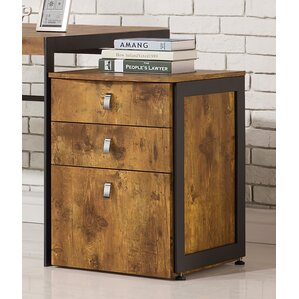 3 Drawer Filing Cabinets You'll Love | Wayfair