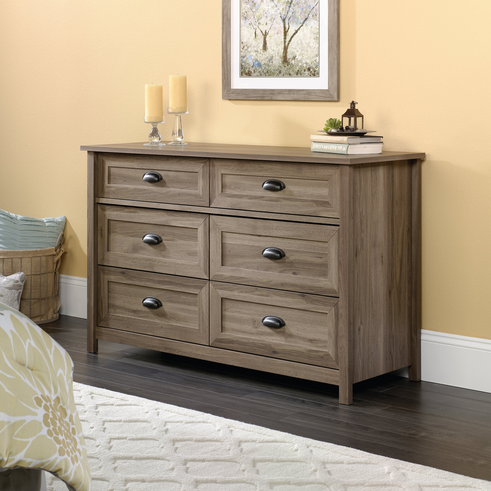 bonanza casual triple number drawers wayside of vaughan products bassett item drawer chests dresser