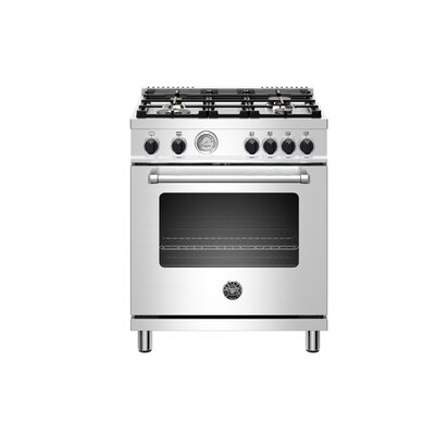 Master Series 30 Free-standing Gas Range with Griddle Bertazzoni