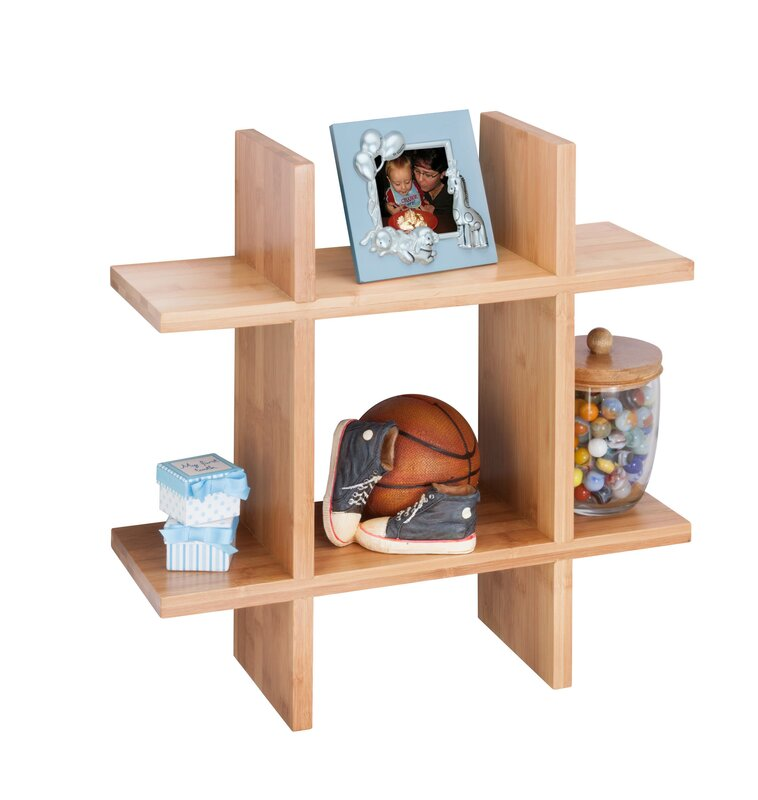 Honey Can Do Bamboo Wall Shelf & Reviews | Wayfair