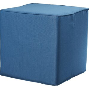 Samoset Square Pouf Ottoman by Rosecliff Heights