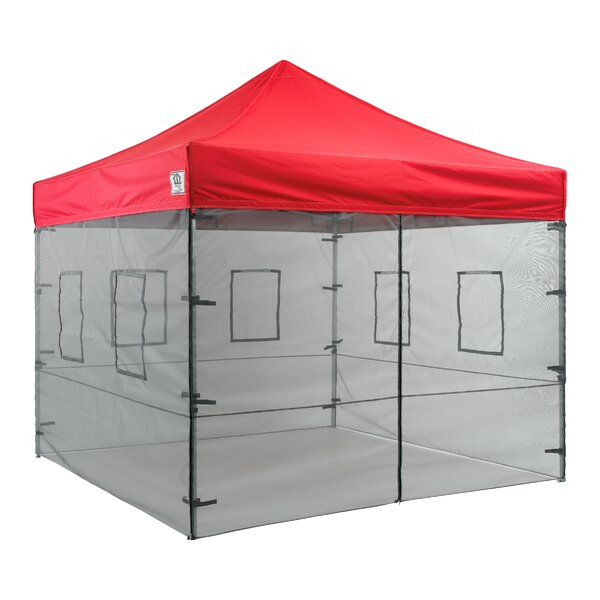 impactcanopy pop up food service vendor canopy tent sidewalls reviews wayfair - Canopy