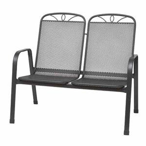 2-Sitzer Gartenbank Elda aus Metall von Siena Garden