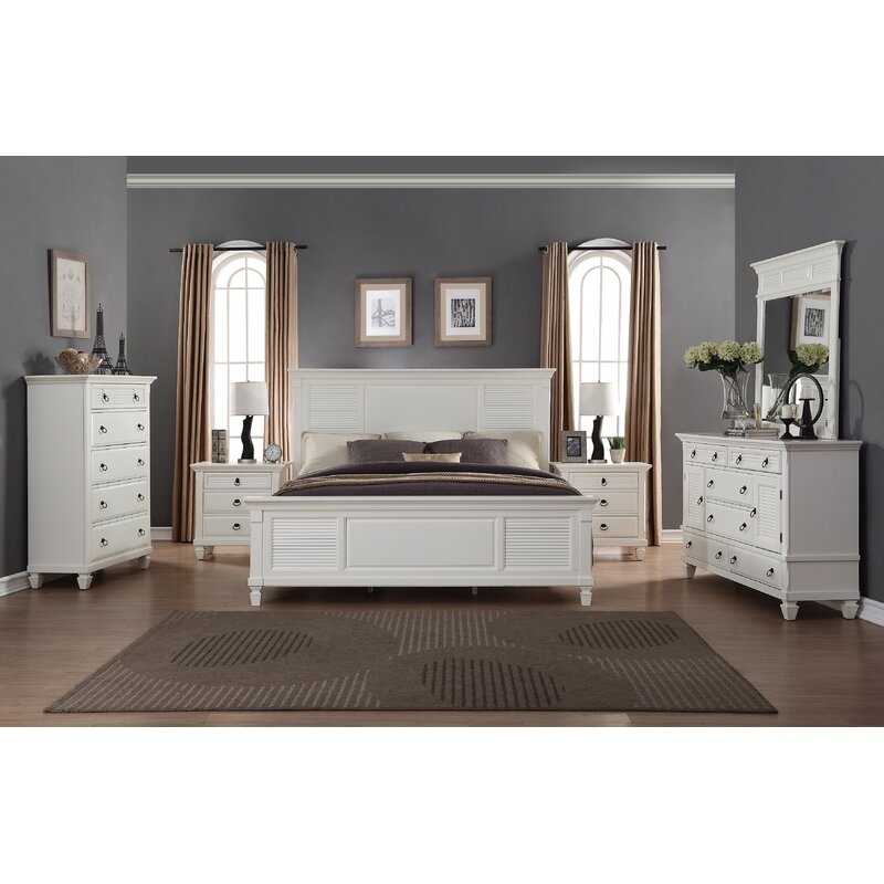 Highland Dunes Stratford King Platform 6 Piece Bedroom Set | Wayfair