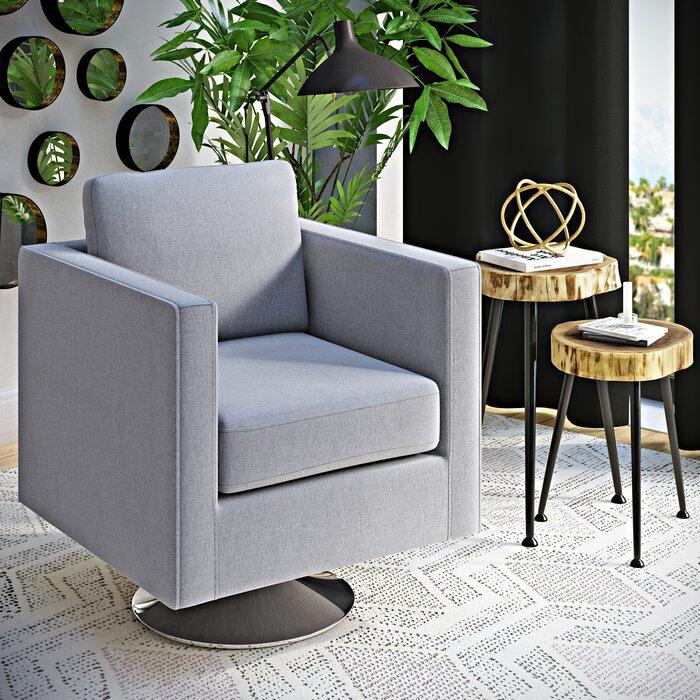 swivel arm chairs living room. Elsmere Swivel Arm Chair Wrought Studio  Reviews Wayfair Ca