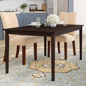 Elsa Wood Dining Table by Andover Mills