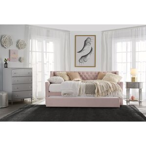 Monarch Hill Ambrosia Upholstered Daybed with Trundle by Little Seeds