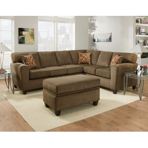 Pulaski Sectional by Brady Furniture Industries