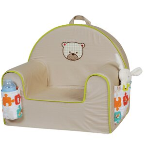 Toddler Padded Chair with Storage Compartment by Candide