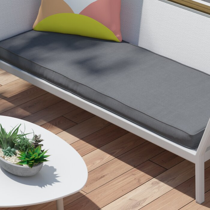 Merveilleux Telleman Indoor/Outdoor Sunbrella Bench Cushion