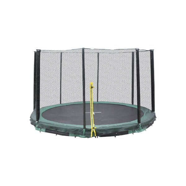 Super Jumper Inground 10' Round Trampoline With Safety