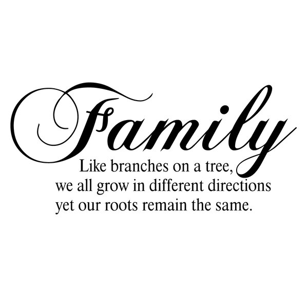 Firesidehome Family Like Branches On A Tree We All Grow