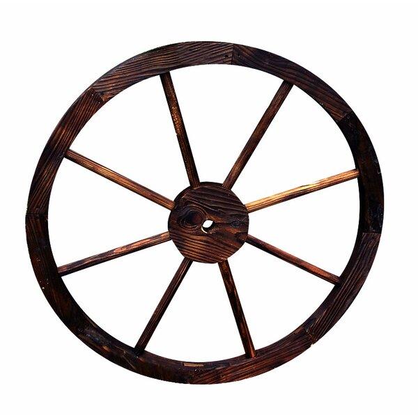 Shine Company Inc. Wagon Wheel Trellis Feeder Statue