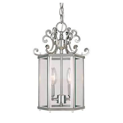 Eaton 2 light foyer pendant