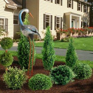 Favorite Blue Heron Garden Statue | Wayfair WW23