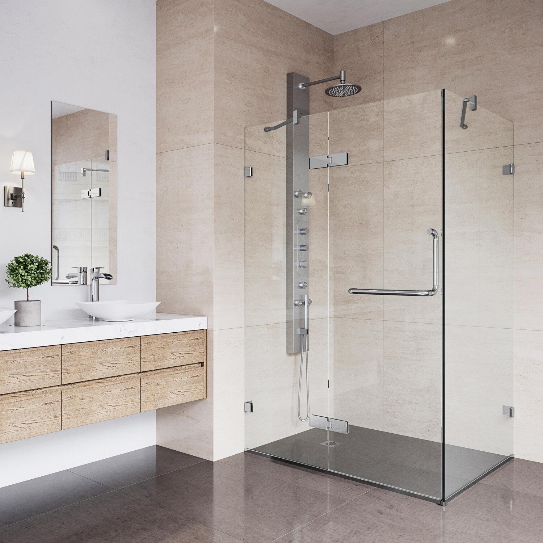Vigo Shower 3825 X 7338 Square Hinged Shower Enclosure Reviews